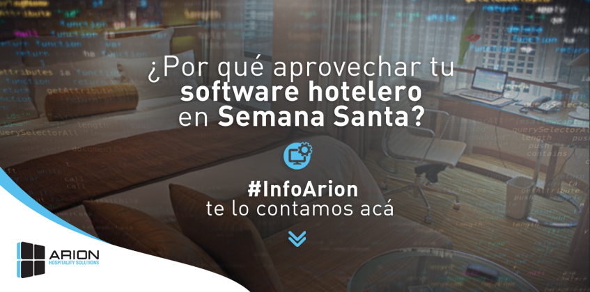 software hotelero arion point