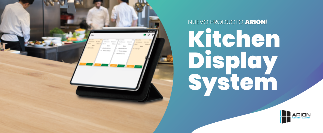 ¡Llegó el Kitchen Display System!